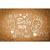 Chipboard - Feet Boy - Emma & Billy
