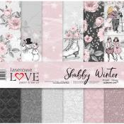Set de papel 30x30 - Laserowe - Shabby Winter