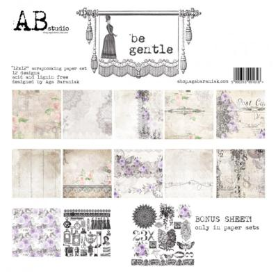 Kit de papeles ABstudio - Be Gentle