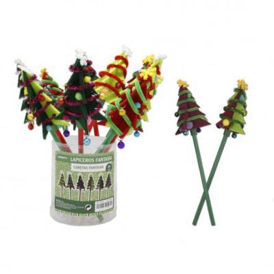 bc921ac387e Lapicero Arbol Navidad Fieltro