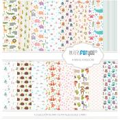 Colección Scrap 30X30 Papers For You Animal Kingdom
