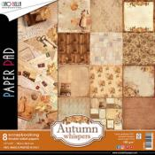 Set 8 papeles 30X30  Autumn Whispers