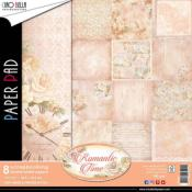 Set 8 papeles 30X30  Romantic Time
