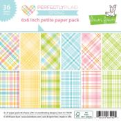 Lawn Fawn Perfectly Plaid Spring 12x12 Inch Collection Pack