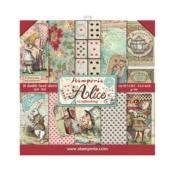 kit de Papeles Scrap  Stamperia 20.3X20.3  Alice