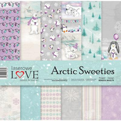 Set de papel 30x30 - Laserowe - Arctic Sweeties