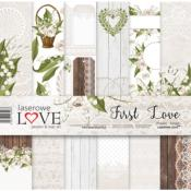 Set de papel 30x30 - Laserowe - First Love