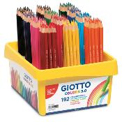 Lapiceros de colores Giotto Stilnovo Pack Escolar 192 uds.